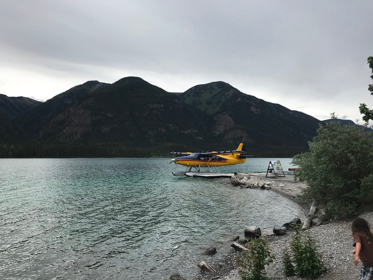 Muncho Lake along the Alaska Highway!