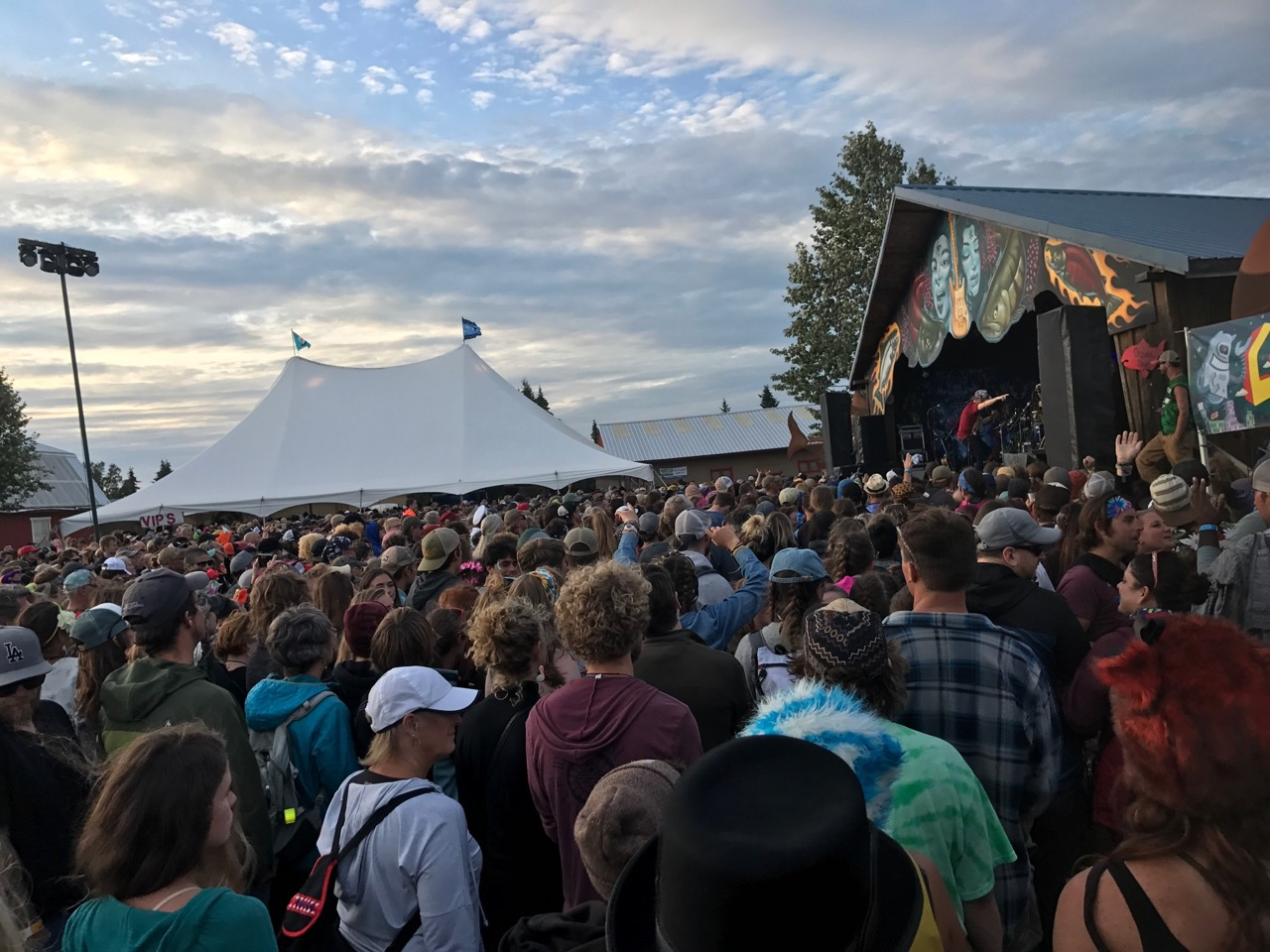 The Ocean stage always drew the crowds for amazing music!