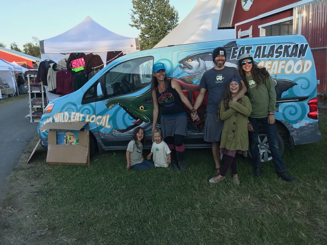 This was our first festival this year, and it reminded us why we love what we do. Thanks Salmonfest!