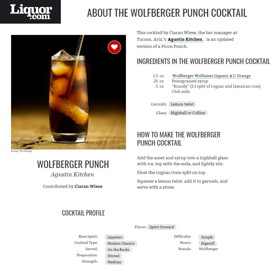 Liquor.com Wolfberger Punch Cocktail by Ciaran Wiese