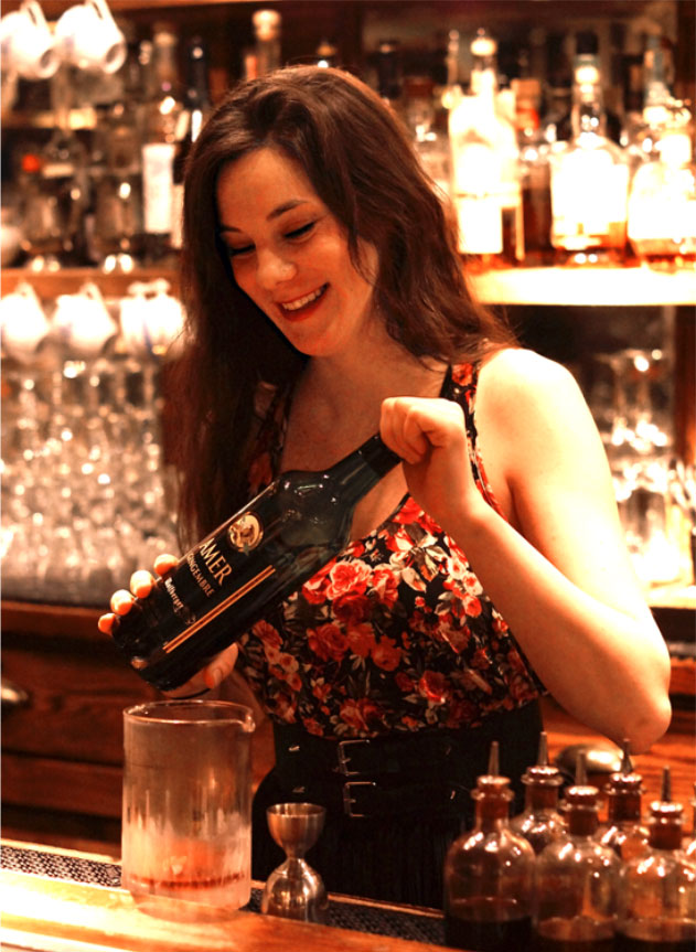 Jillian Vose    Bartender of the Year  2017 Nominee -Spirited Awards   Louis In Versailles  .75 oz Black Dirt Apple Jack .75 oz Wolfberger Amer Gingembre .75 oz Yellow Chartreuse .75 oz Fresh Lime Juice .25 oz Cinnamon Bark Syrup  Method: Shaken Glassware: Sour Glass Garnish: None   Created by Jillian Vose, Bar Manager The Dead Rabbit NYC photo: Thomas Haroldson
