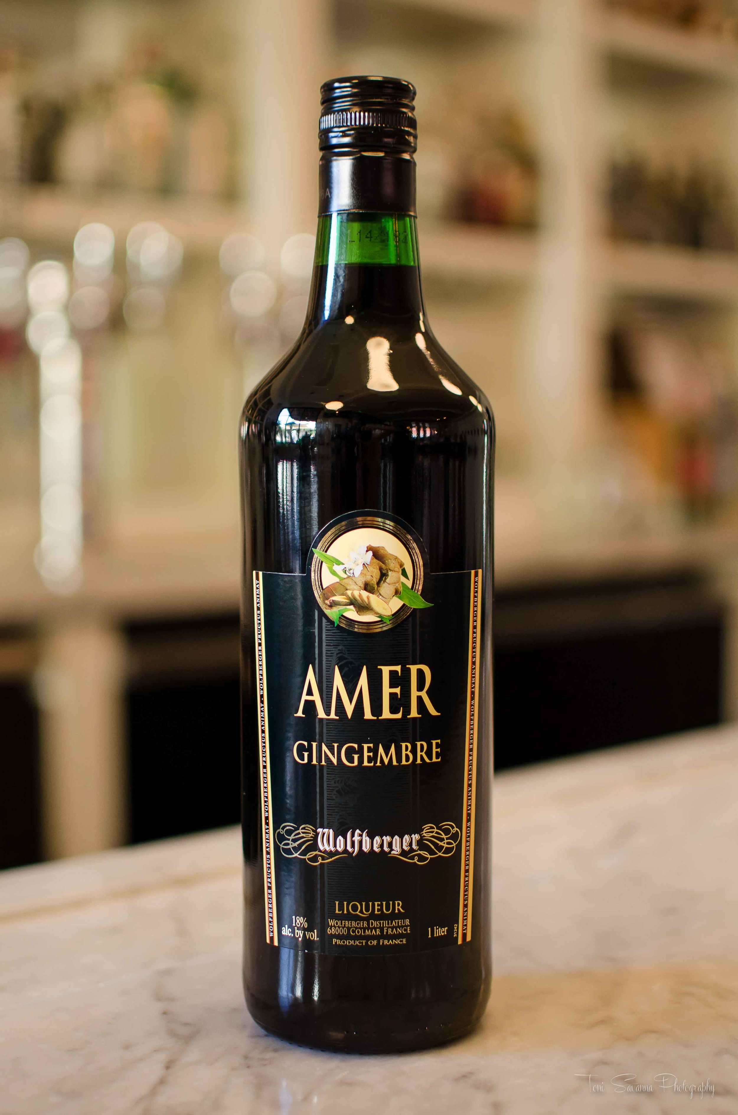 Wolfberger Amer Gingembre Bottle shot