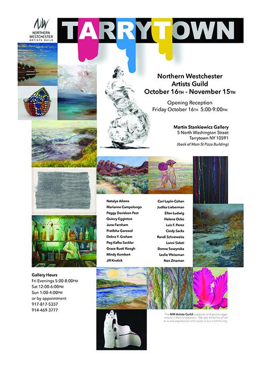 Invite to The Martin Stankiewicz Gallery.