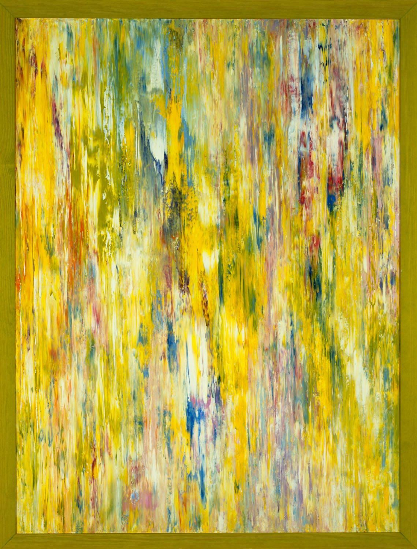 Jill S. Krutick, WATERFALL, 2012 Oil on canvas, 40 x 30 inches (76.2 x 101.6 cm). Framed: 42 x 32 inches (106.7 x 81.3 cm).