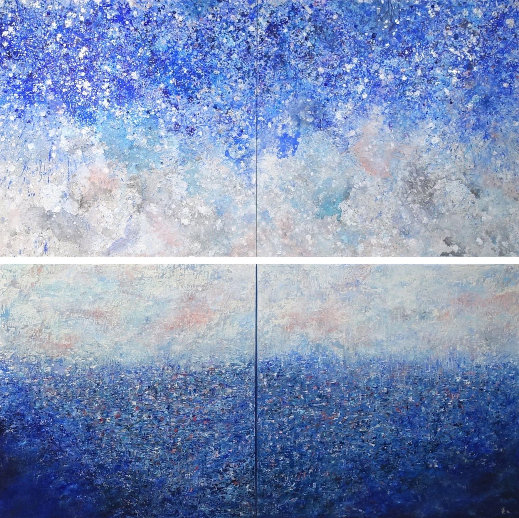 Dreamscape Diptych Oil/Acrylic, 2016