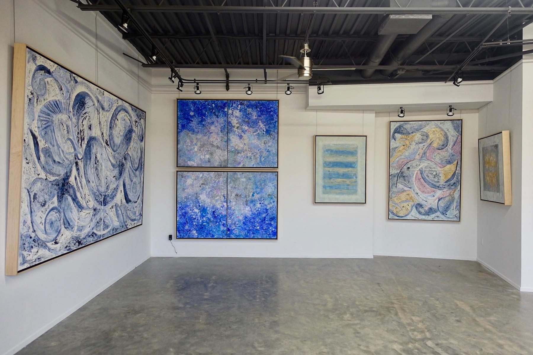 Installation view, Jill Krutick, 2018