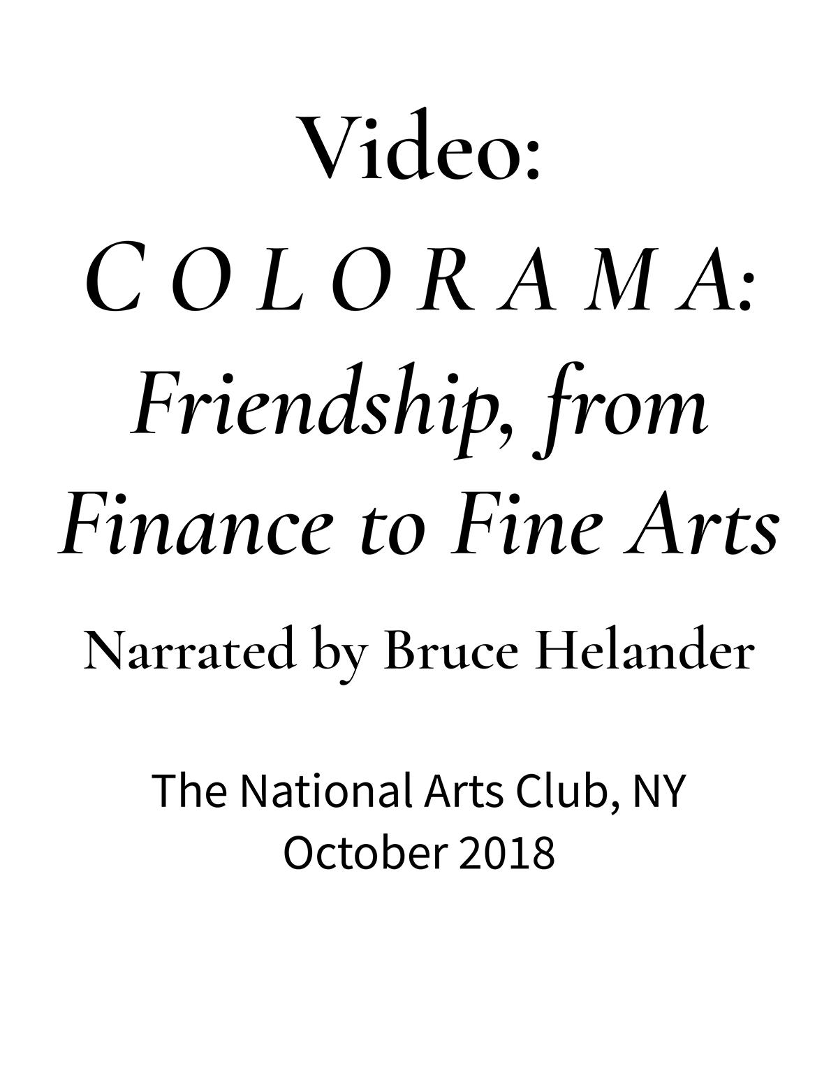 The National Arts Club | C O L O R A M A