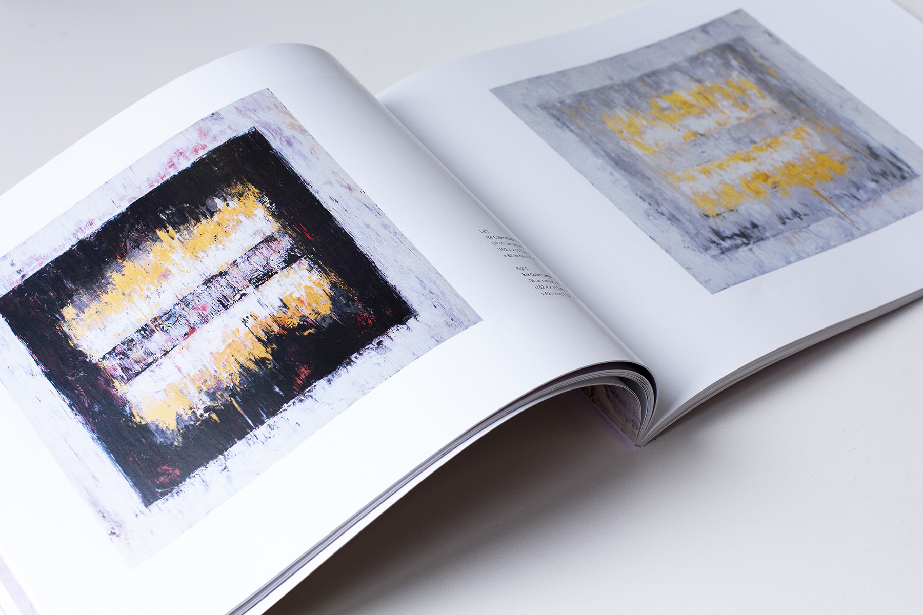 Exhibition Catalog of  Lyrical Abstraction