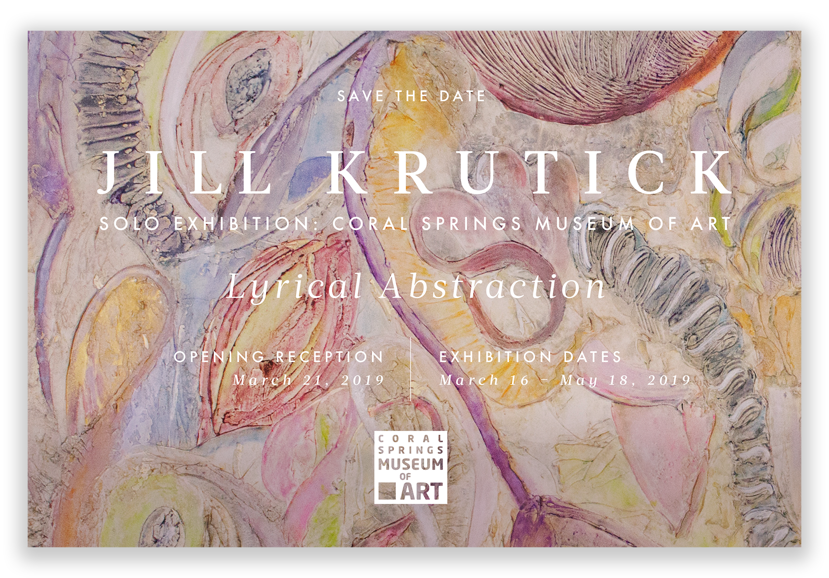 Save the Date for  Lyrical Abstraction