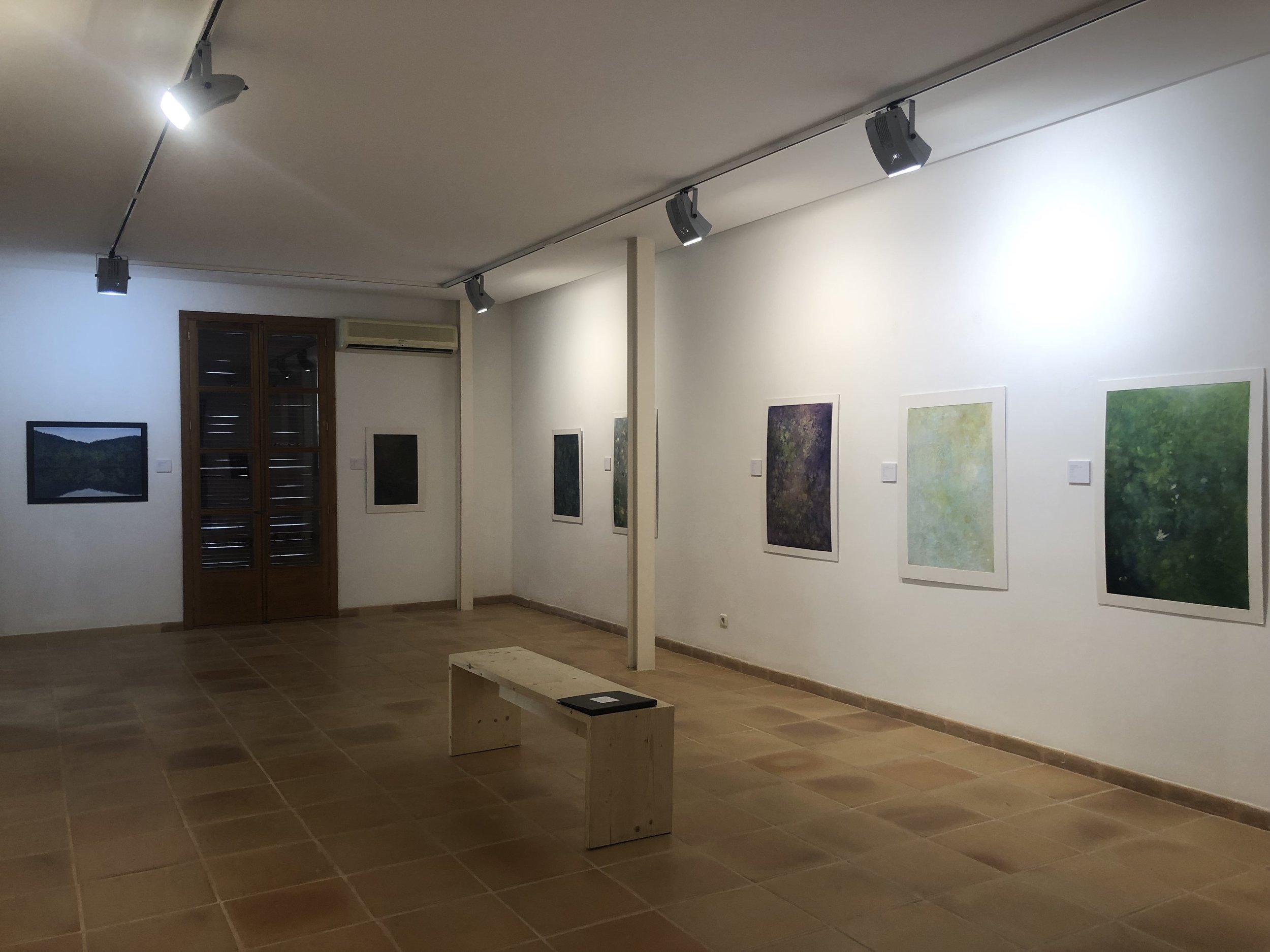 Far wall: Kumiko Okamoto-Paulisch Right wall: Hisako Kobayashi