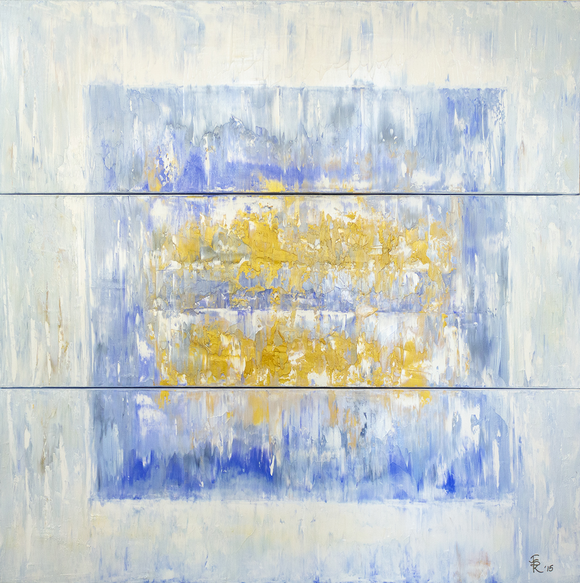 Ice Cube Triptych, 2015