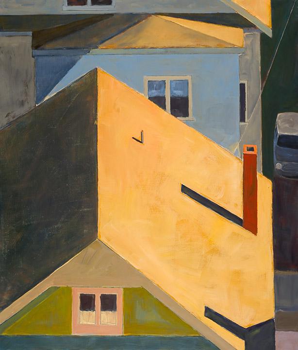"""<i>Somerville 4</i> <br> 42 x 36"""", Oil on Linen"""
