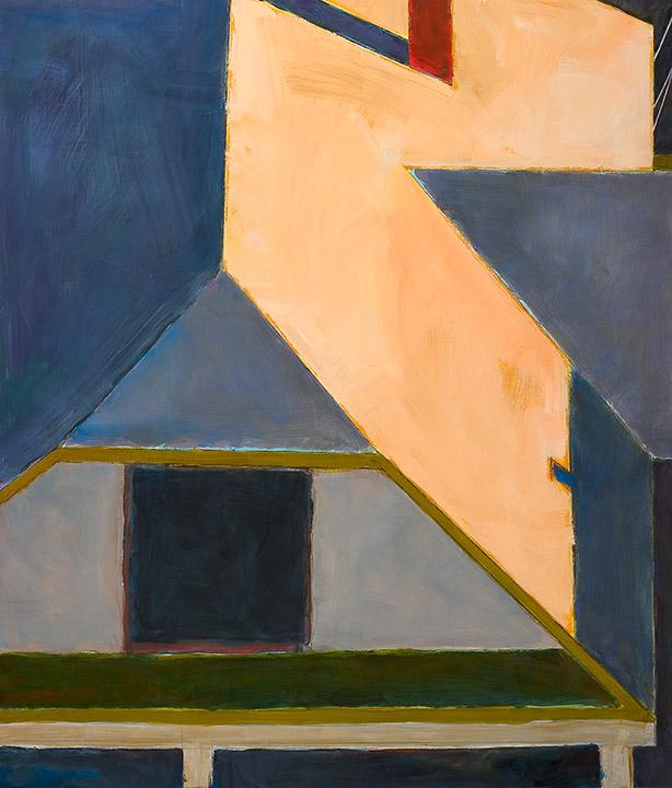 """<i>Somerville 5</i> <br> 42 x 36"""", Oil on Linen"""
