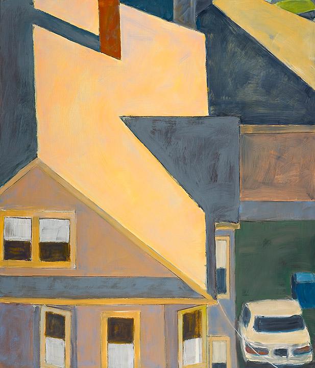 """<i>Somerville 6</i> <br> 42 x 36"""", Oil on Linen"""