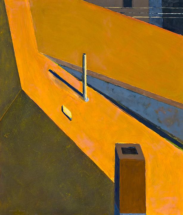 """<i>Somerville 7</i> <br> 42 x 36"""", Oil on Linen"""