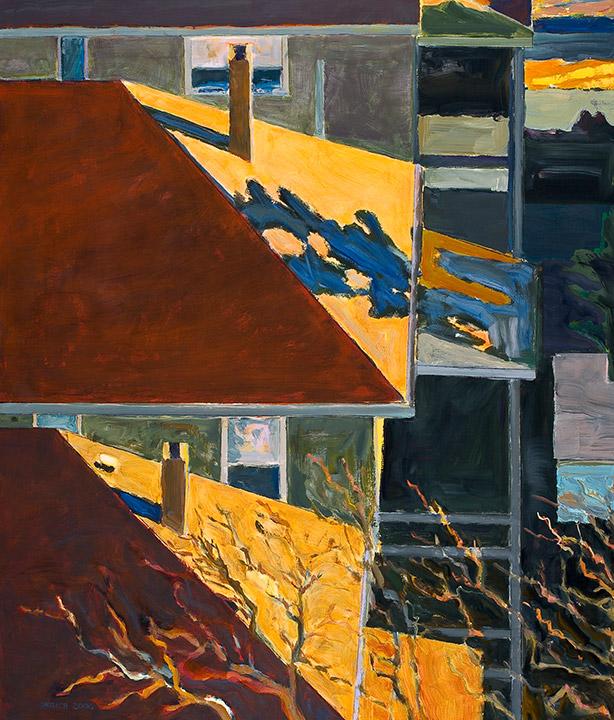 """<i>Somerville 8</i> <br> 42 x 36"""", Oil on Linen"""