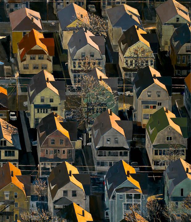 """<i>Somerville 12</i> <br> 42 x 36"""", Oil on Linen"""