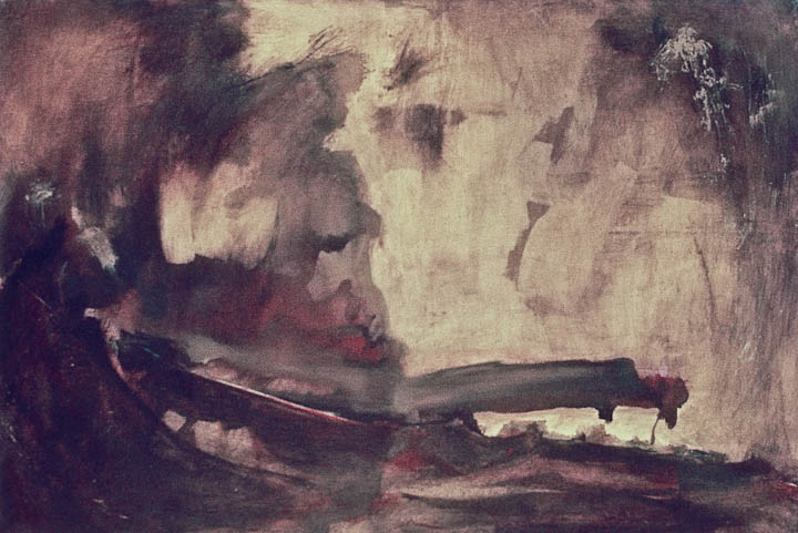 """Turner Sky, 28 x 40"""",  Oil on Canvas"""