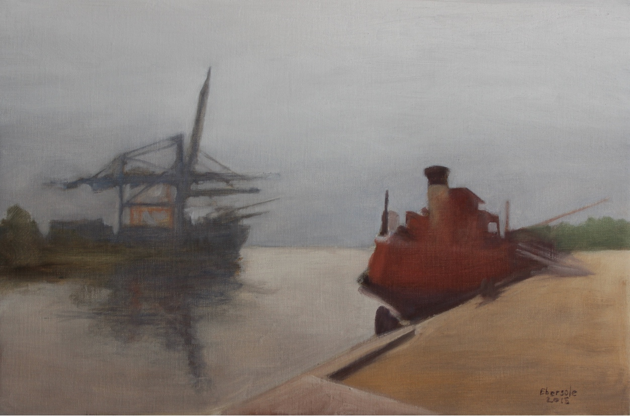 Gray Day - Container Terminal