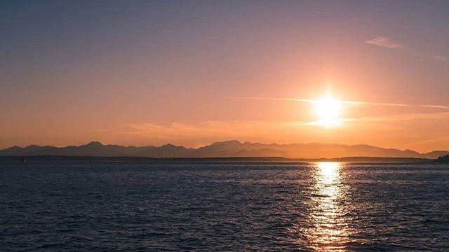A Seattle Sunset.