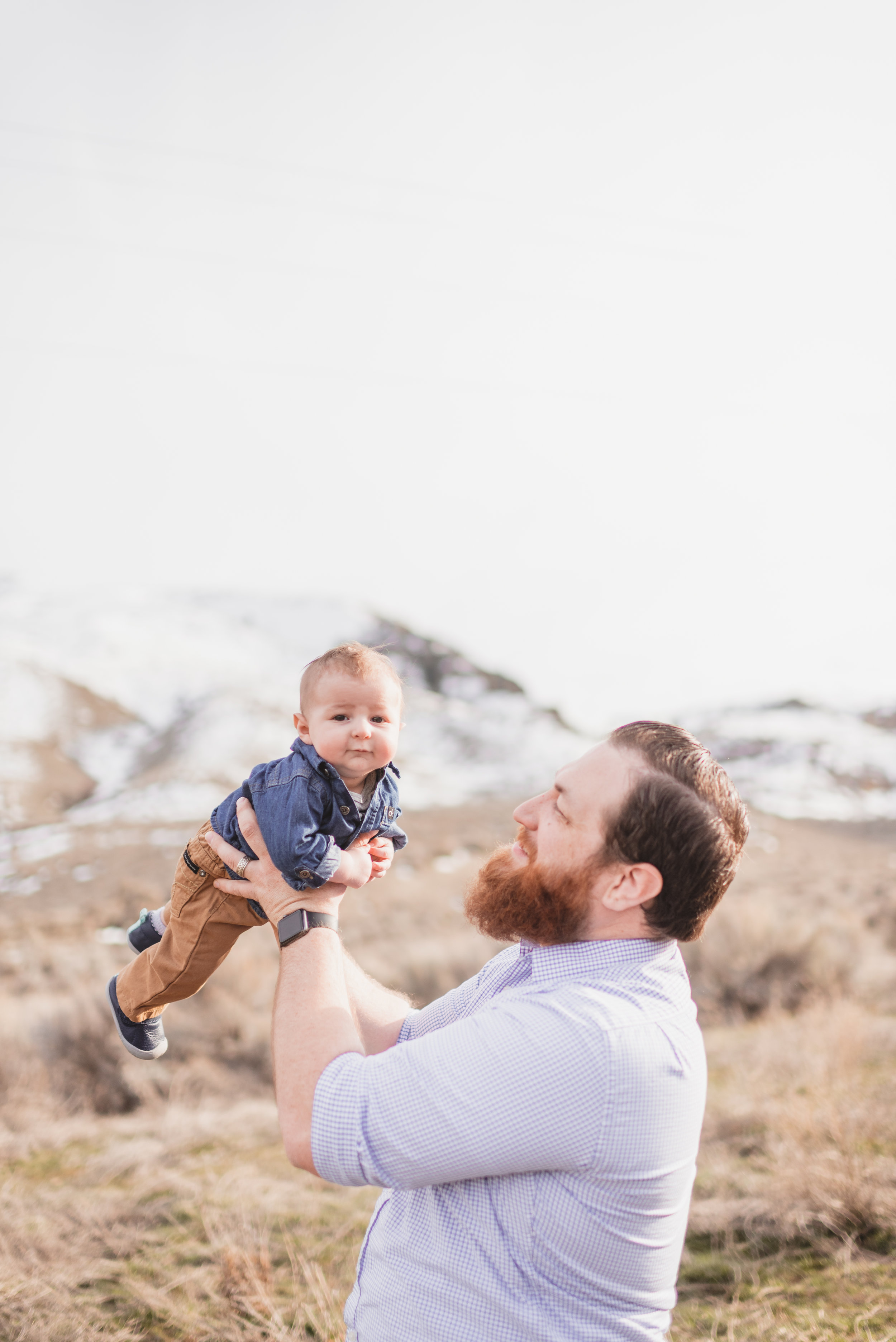 family portrait photographer in the methow valley