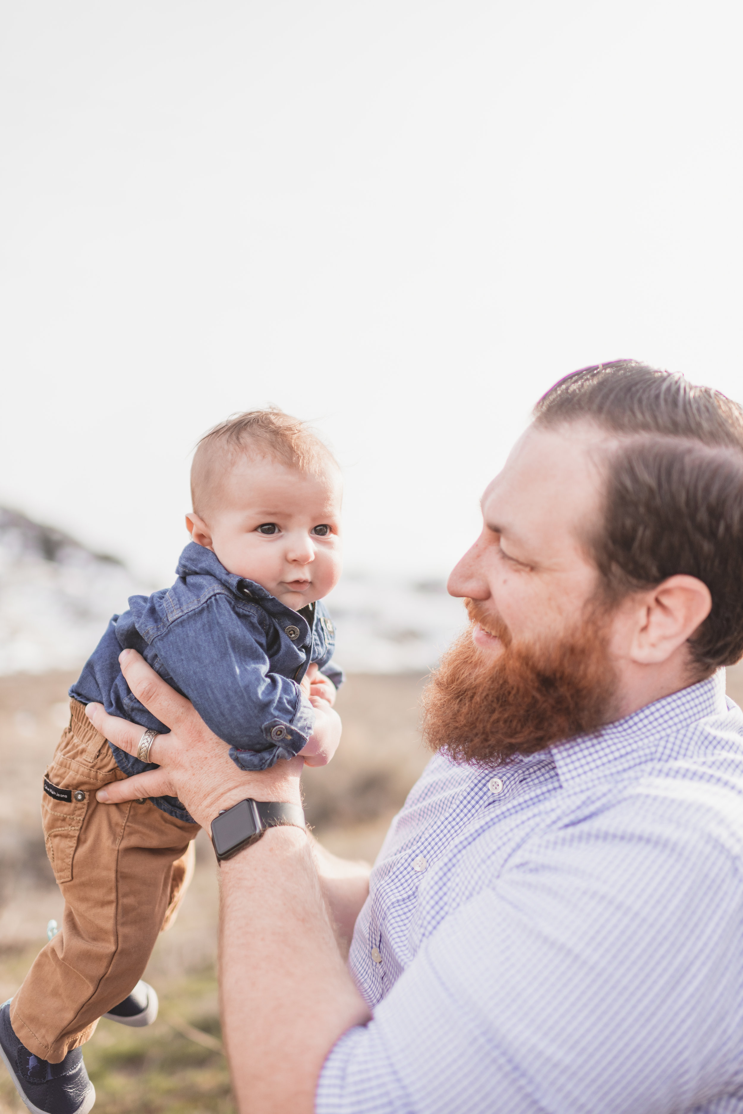 happy family portrait photography in washington