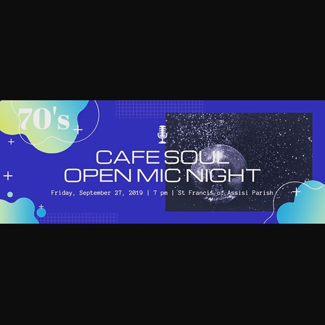 Join us tomorrow for 70s Night Open Mic Night at 7pm at SFOA!