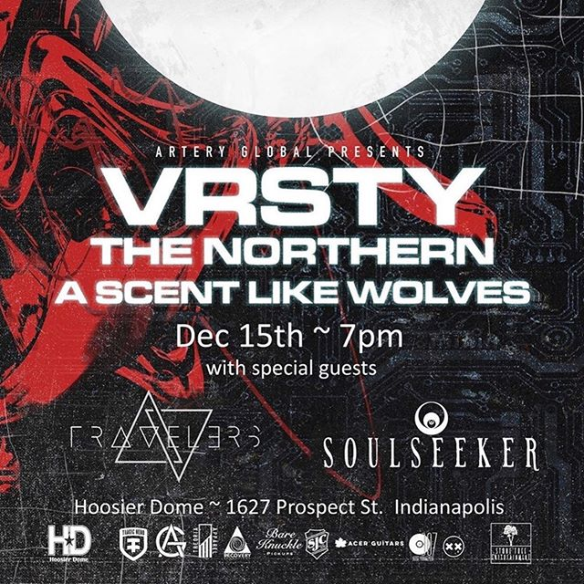 JUST ANNOUNCED! We get to share the stage with the boys over at @vrsty.nyc @thenorthernto @aslwofficial and @soulseeker_cult  This is gonna be a crazy show you won't want to miss!  #metal #metalcore #djent #show #breakdowns #indymusic #supportlocals