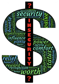 Insecurity Dollar Symbol by John Hain. Courtesy Publicdomainimages.net.