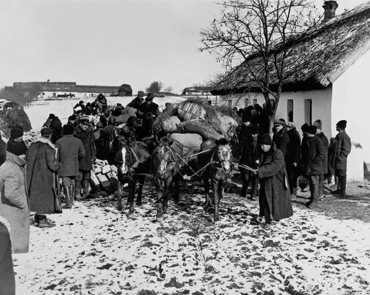 Soviet displacement of peasants, repeating the same Modern acts that birthed capitalism in Europe and the Americas