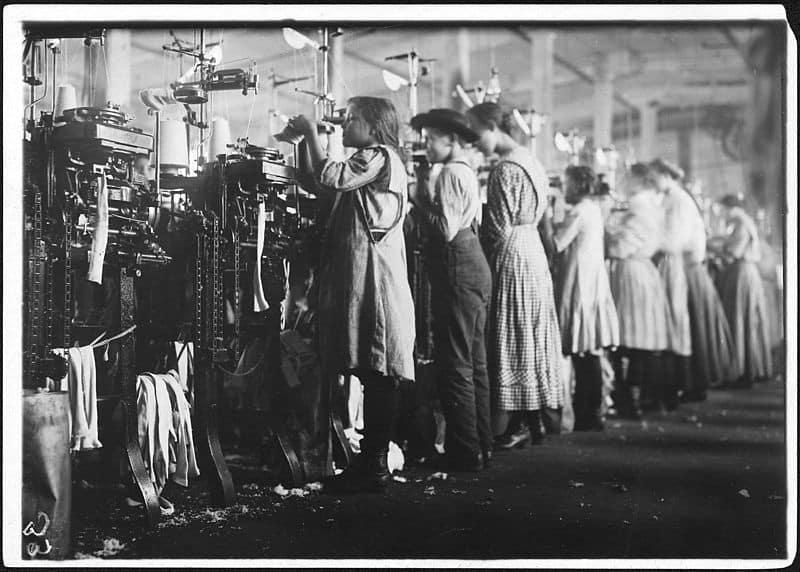 Children of the Modern: British factory, 19th century