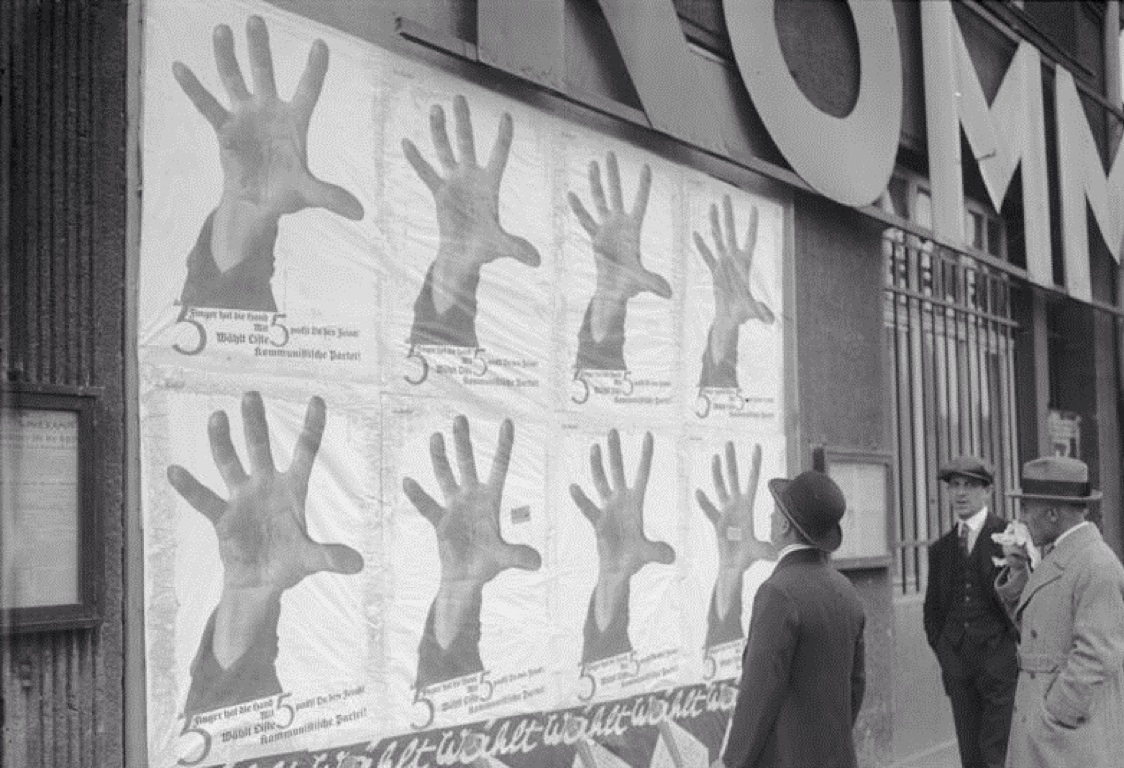 The Official John Heartfield Exhibition  ( 5 Finger hat die Hand/ 5 Fingers Has The Hand  ) Shared with the permission of the artist's grandson, we much appreciate the generosity.