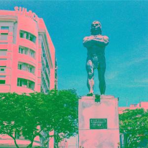 Statue of Araribóia in Niterói. Photo by Mirna Wabi-Sabi