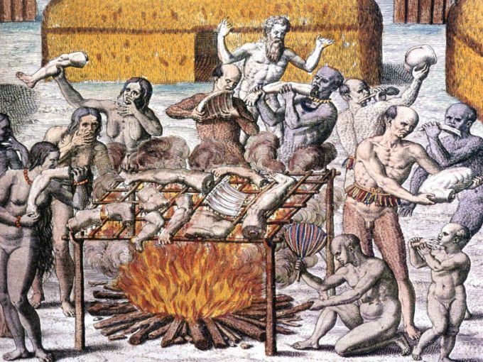 Theodor de Bry , 1592.