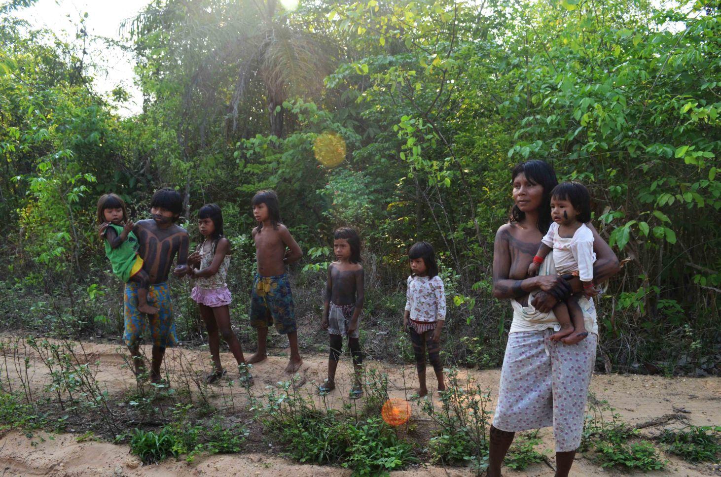 Krahô, Tocantins (Foto de  Julia Lea de Toledo ).