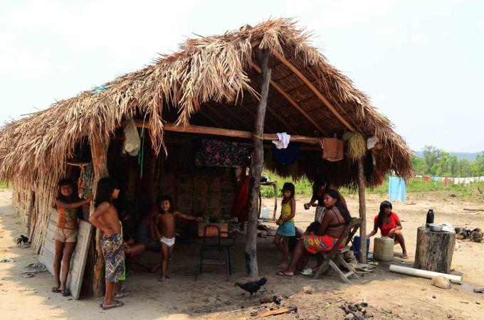 Photo By  Julia Lea de Toledo . Photo of the Krahô, in Tocantins.