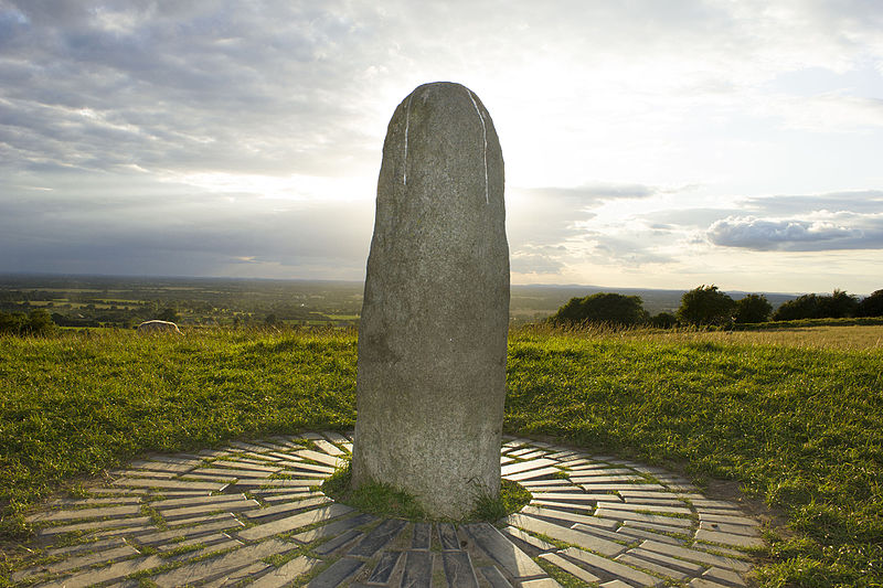 """The Hill of Tara"" - Image by John J. Duncan"