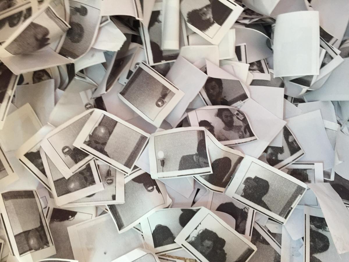 """יוסף משיח, צילום מתוך המיצב """"האחר"""", 2018"""