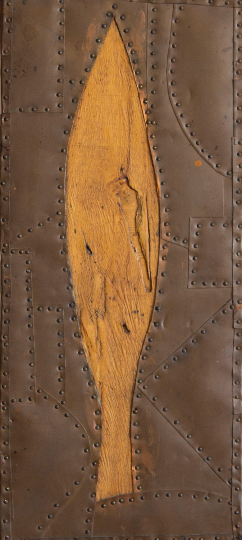 יובל דניאלי, עץ, עץ ונחושת, 1990 | קרדיט צלם: תמי סואץ