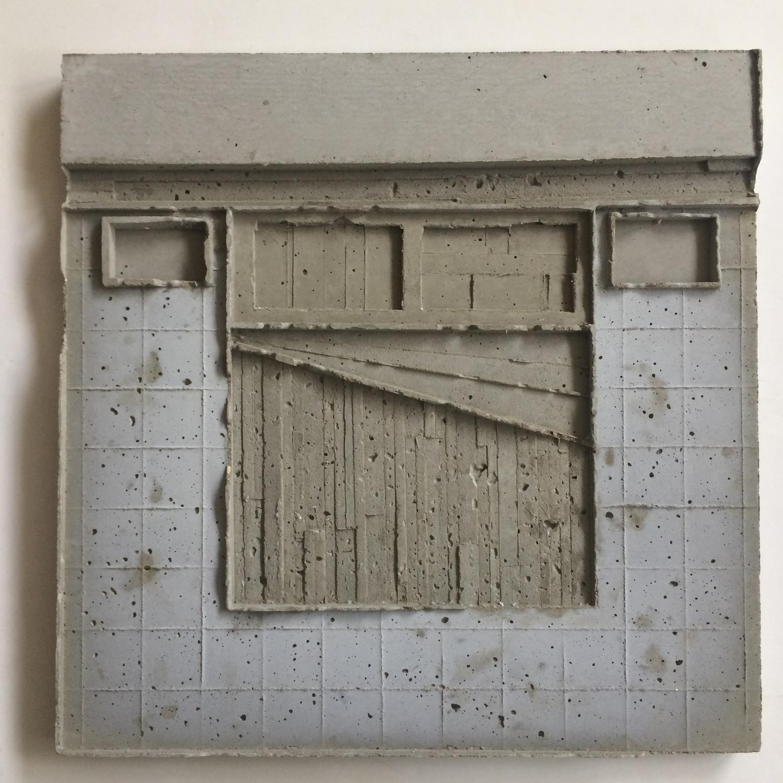 שרון פזנר, חדר, יציקת בטון, 2019