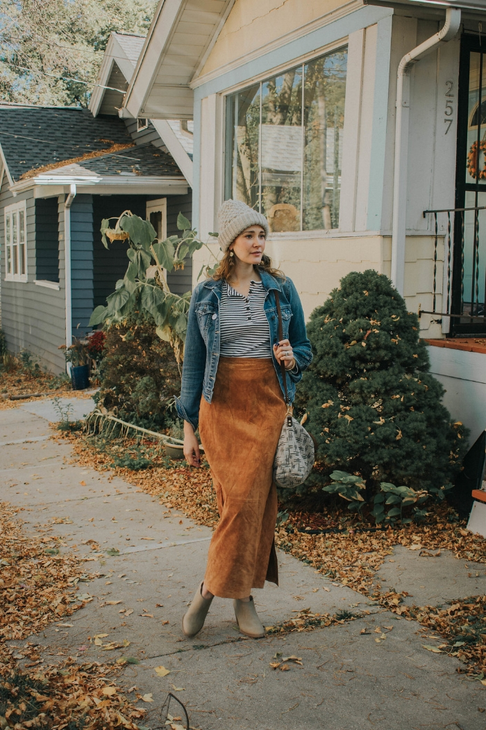 Its finally feeling like fall around here in the Midwest, trees are changing color and the air is becoming a bit more crisp. Its the perfect time to pull out those layers and hats!