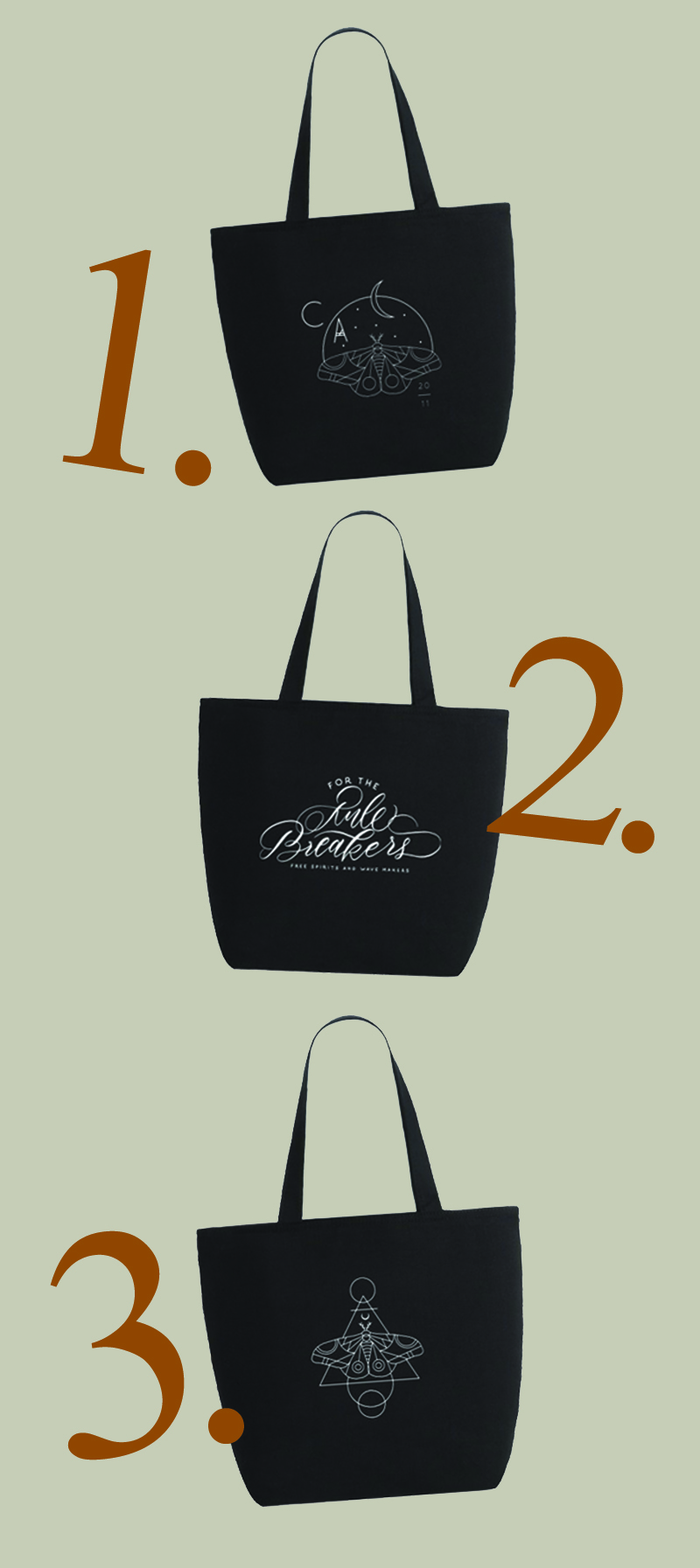 I have been wanting to design a market bag or two since re-branding last year. I instantly thought that the new logo would look rad on a bag, so here we go! Soon we will be offering 1 or 2 styles of totes complete with tassel detail. The black tote its self is canvas with zipper closure. Its a perfect carry all tote!  Stay tuned for drop date on these bags!  Vote for your favorite patter(s) in the comments!