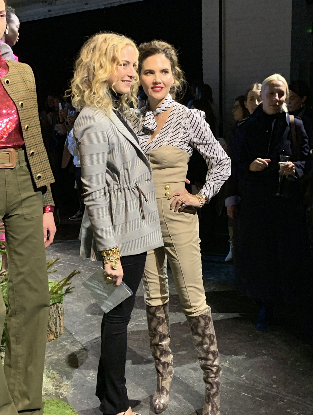 Veronica Beard - Pictured are Veronica S. Beard (left) and Veronica M. Beard (right) at the Veronica Beard Fashion show on February 11th, 2019