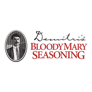 Demitri's Bloody Mary Seasoning   Believe it or not, this amazing mix is local to the Pacific Northwest! The perfect balance of flavor and kick. You'll discover it makes the perfect Bloody Mary base at all of our Bloody Mary stations.
