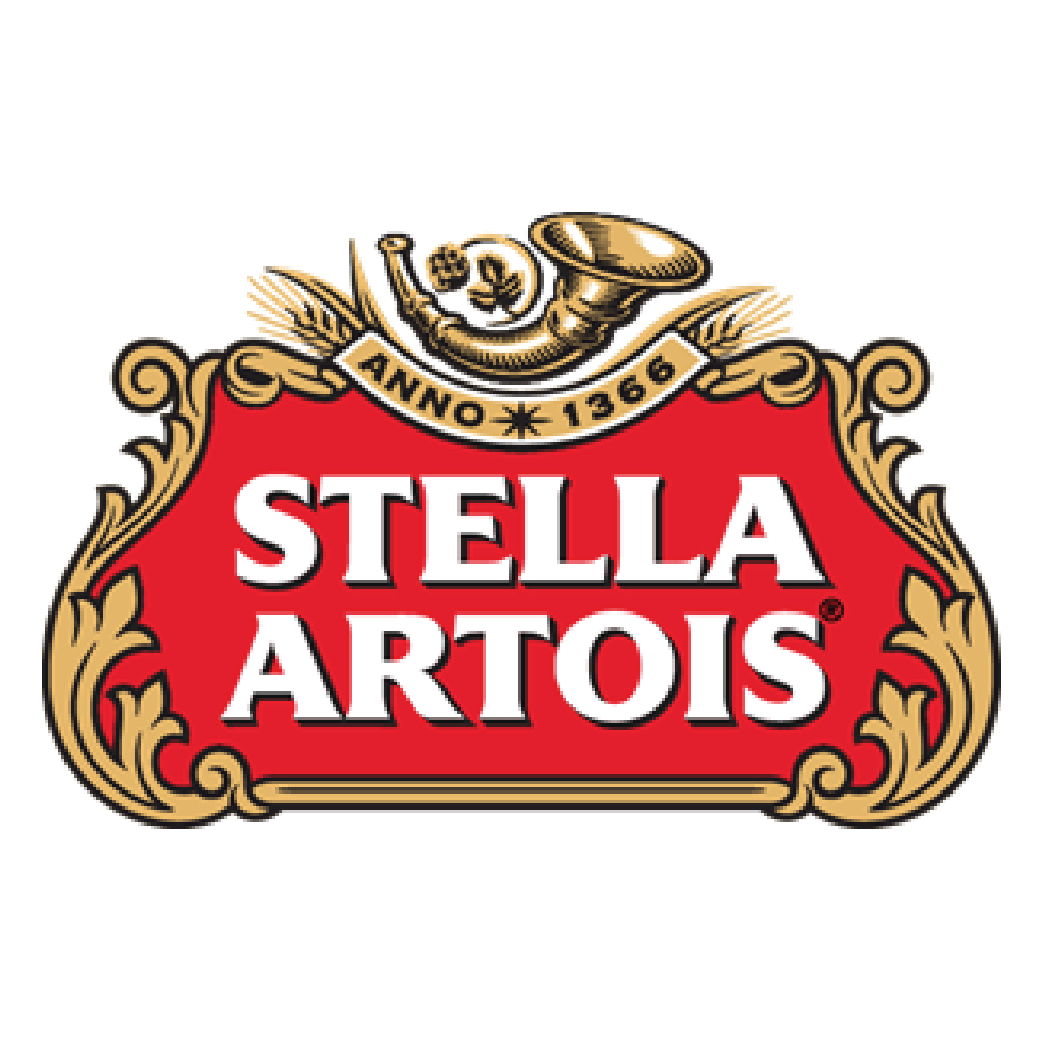 Stella Artois   Come enjoy the rich flavor of Stella Artois at Full Pour!