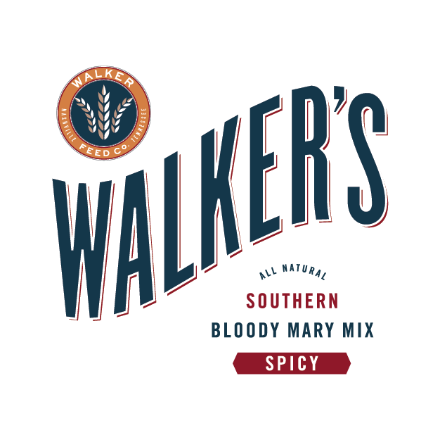 Walker's Southern Bloody Mary   Walker's Southern Bloody Mary Mix takes savory approach to the cockcrow libation. Our all natural, vegetarian blend is made with tomatoes first, fresh squeezed juices, and only the highest quality spices and ingredients for an agreeably piquant cocktail.