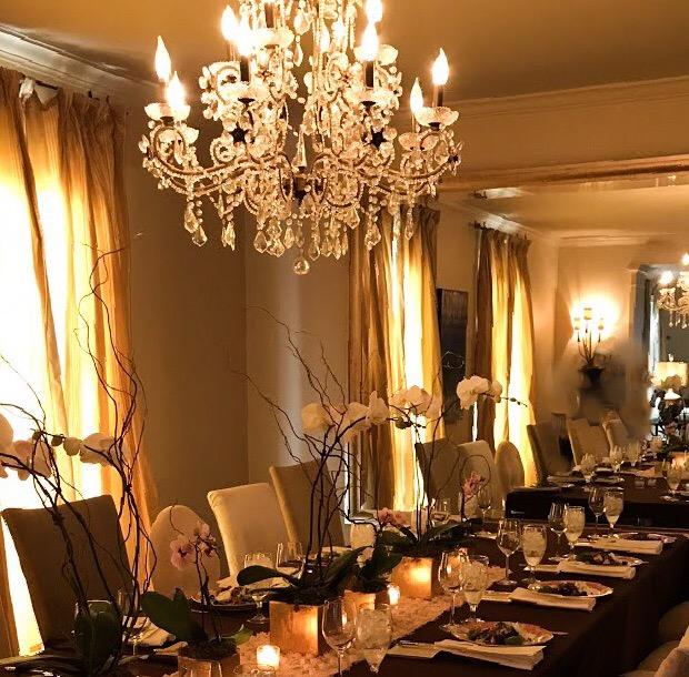 Glowing Reception
