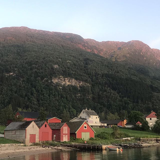 I miss the cool air and crisp fjords from my summer travels in Norway. Especially on these humid days in New Orleans!