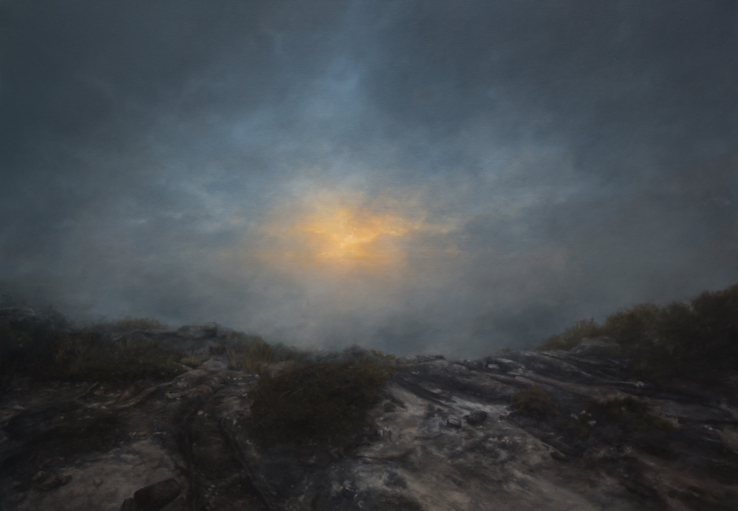 into the intimate expanse - The atmospheric paintings of into the intimate expanse represent an ongoing inquiry into all that may be discerned, concerning broader reality and experience, from the patterns and principles observed in the natural world.Exhibition 14 - 25 March 2018Art Space on the Concourse - Chatswood