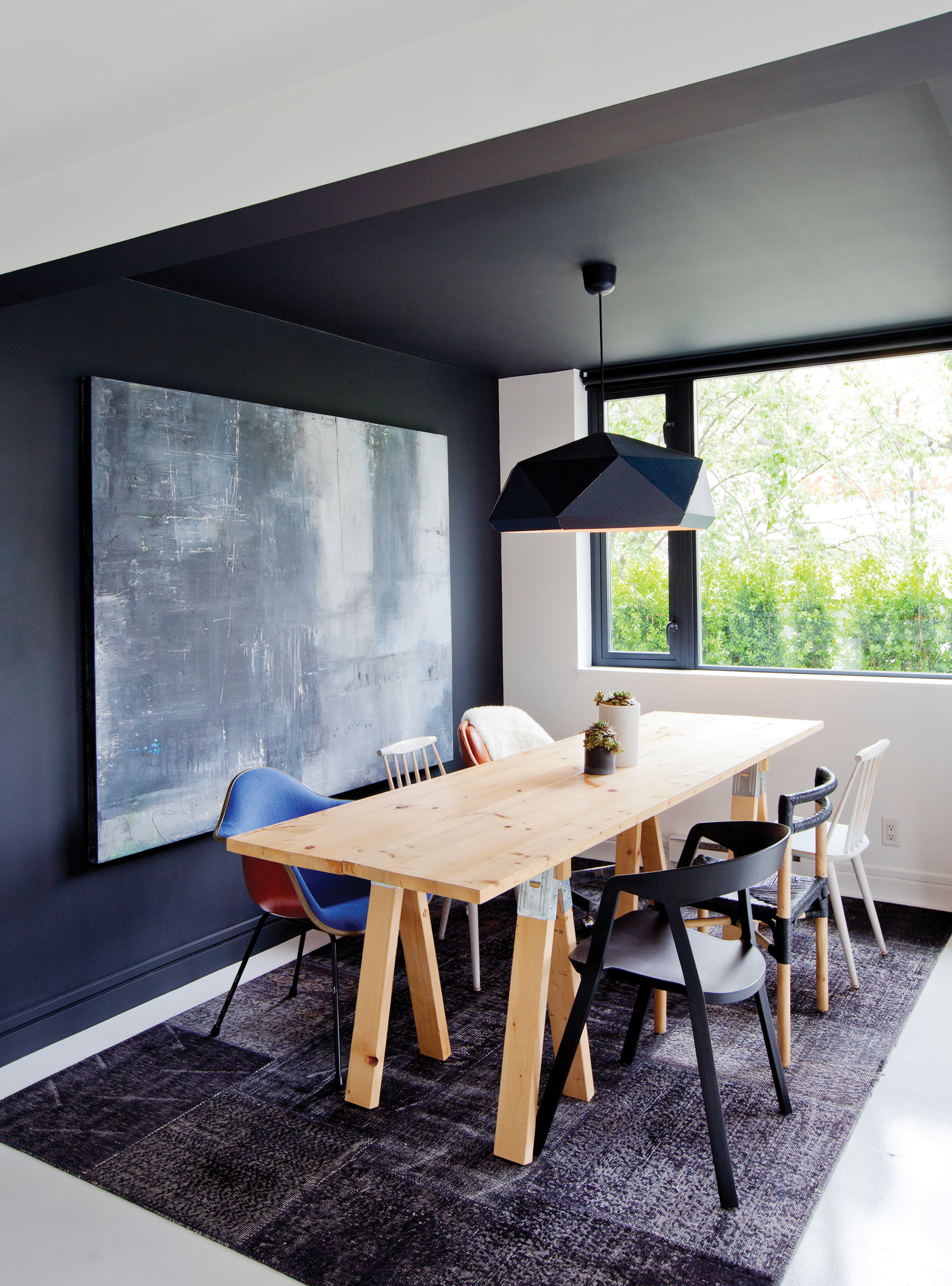 DESIGN:    Gallery-Cool Condo    Two designers create a space that's part dream home, part gallery of treasures.